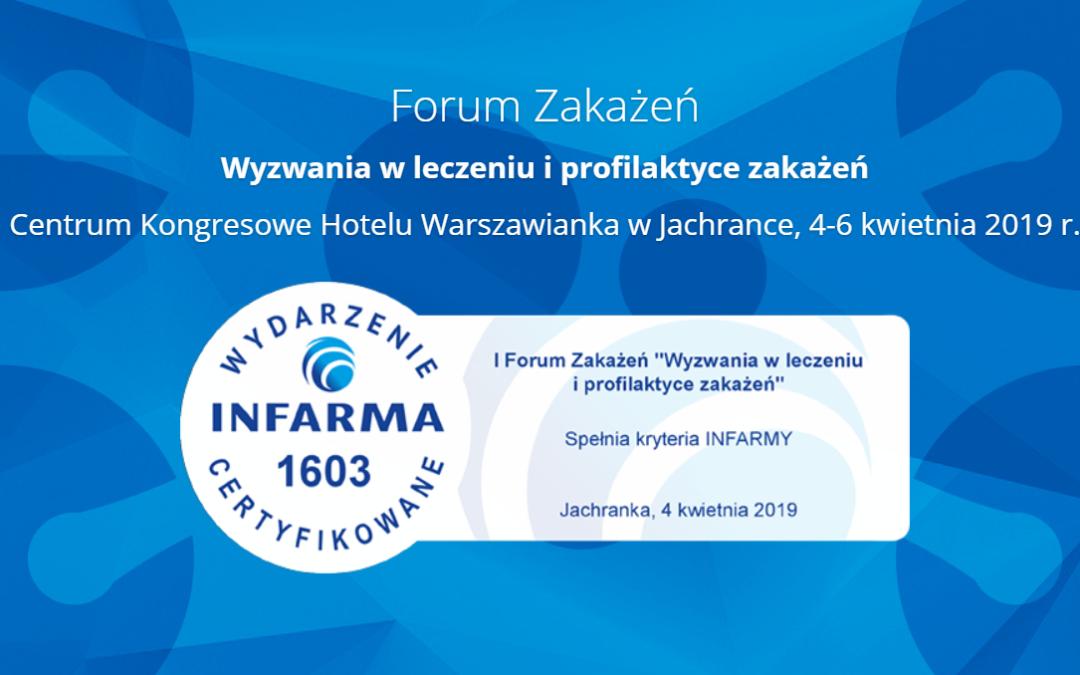 Ok. 500 uczestników na I Forum Zakażeń. Rejestracja już zamknięta