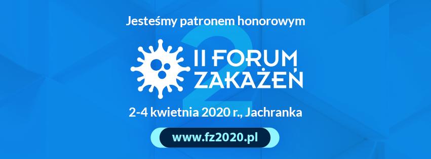 Zapraszamy na II Forum Zakażeń!